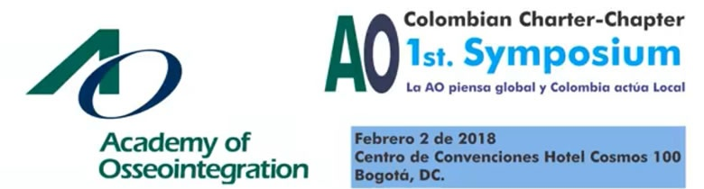 AO Colombian Charter Chapter Meeting  1st. Symposium