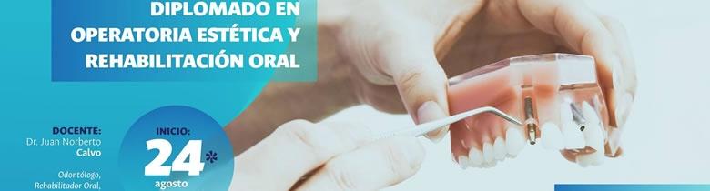Diplomado en operatoria Estética y rehabilitacion oral