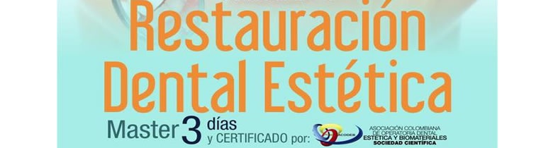 Curso master Restauraciones Dentales., modalidad Teórico Hands On