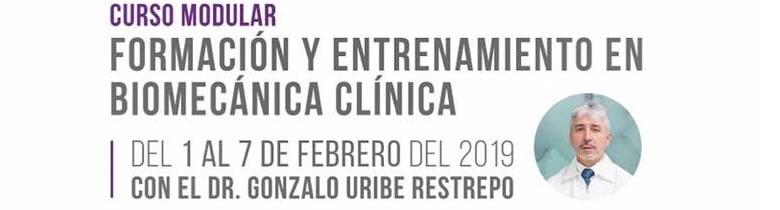 Formación y entrenamiento en Biomecánica Clinica - Barranquilla