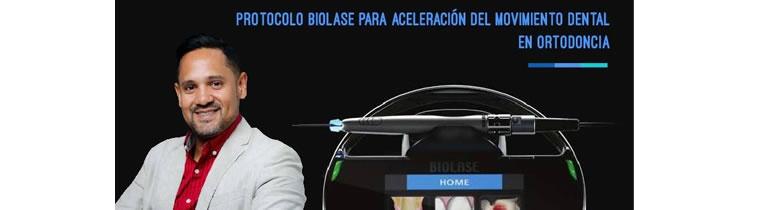 Protocolo BIOLASE para aceleración del movimiento dental en ortodoncia