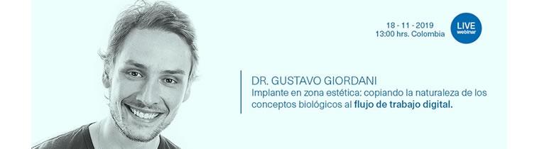 WEBINAR MIS | DR. GUSTAVO GIORDANI