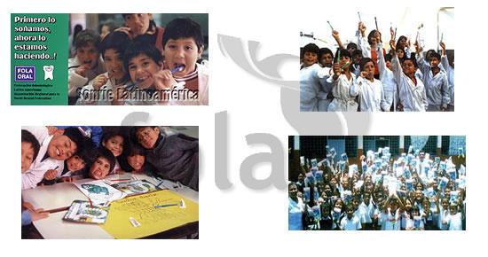 """Programa Latinoamericano de educación para la salud bucal """"Sonríe Latinoamérica"""
