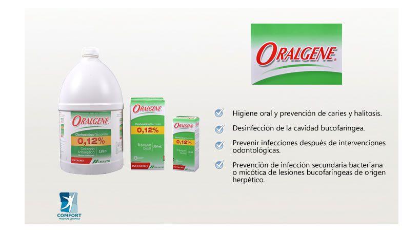 Oralgene en Colombia