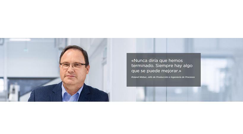 Entrevista con: Roland Weber Jefe de Producción e Ingeniería de Procesos de Dentsply Sirona