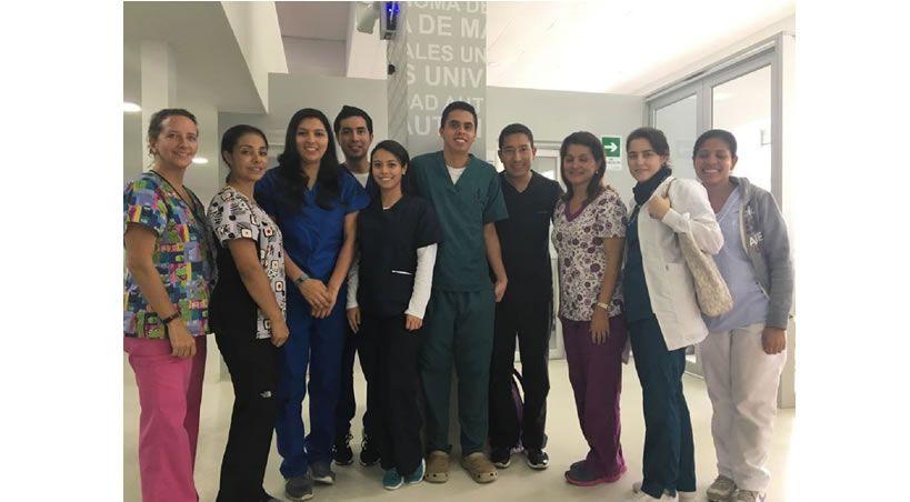 Odontólogos de la Universidad el Bosque visitaron la UAM®