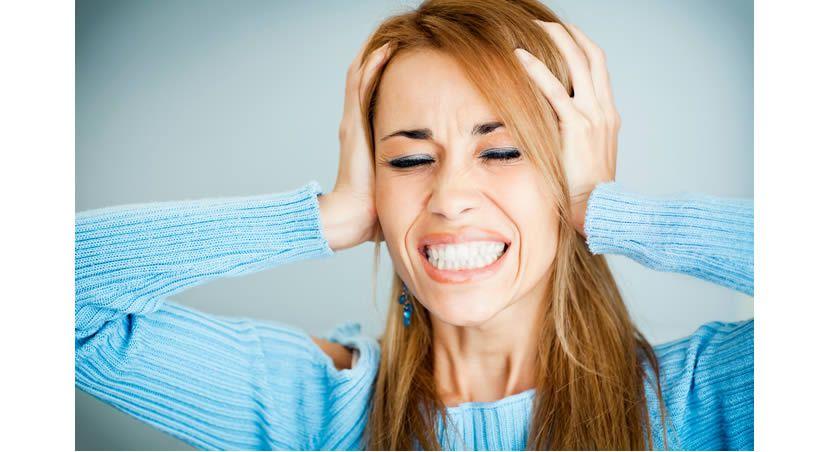 El estrés puede hacer que se te caigan los dientes