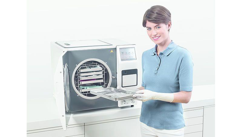 Dürr Dental trae una nueva era en la técnica del esterilizador a vapor en la clínica dental - El Hygoclave 90 con la tecnología DuraSteam