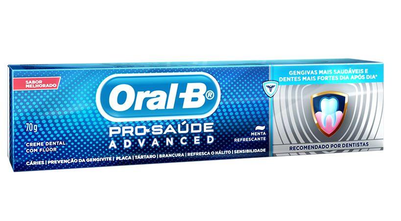 La nueva Oral - B Pro - Salud Advanced  proporciona una boca más sana