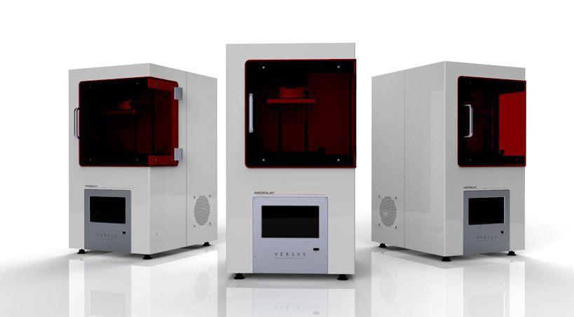 La española Microlay presenta su impresora 3D Versus para el sector dental