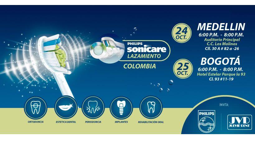 Lanzamiento Sonicare en Colombia