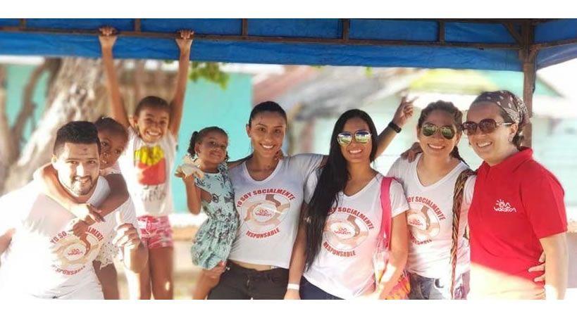 Jornada social para niños y niñas de las zonas más vulnerables de San Andrés Islas