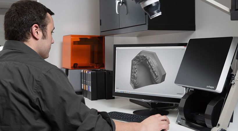 Impresión 3D en la odontología: