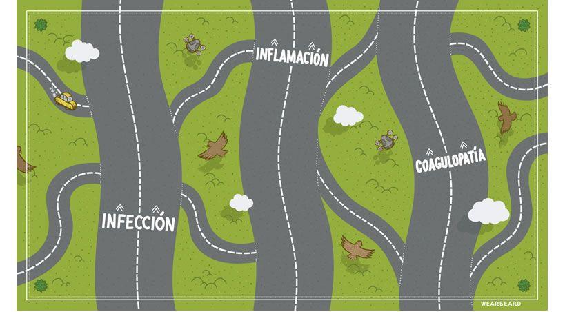Un viaje por las carreteras principales y secundarias del nuevo coronavirus